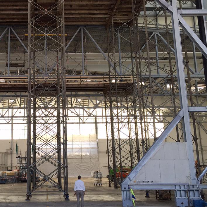 EADS Dresden - Hangar Tor (Vorschau)