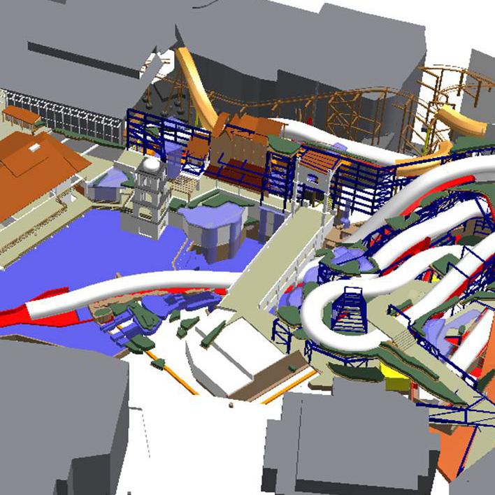 Phantasialand Brühl - Visualisierung (Vorschau)